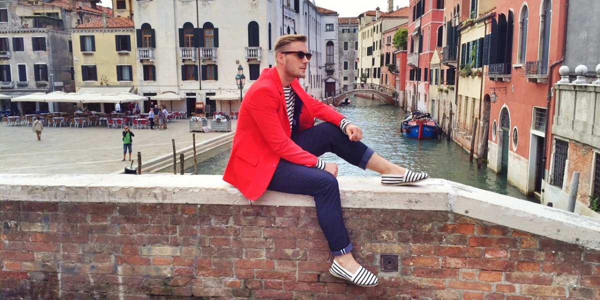 Stripes in Venice 1