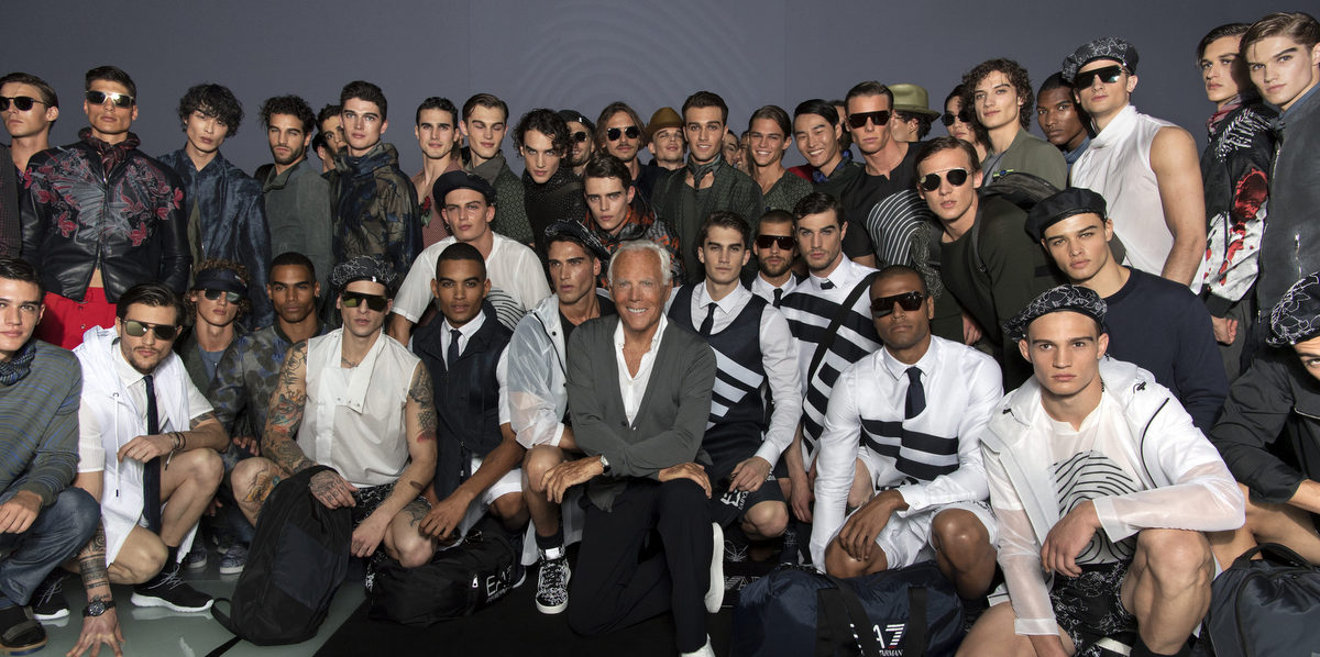 Emporio Armani Menswear SS17-18_ GA with models